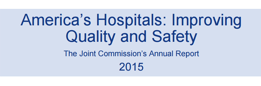 2014 Top Performer on Key Quality Measures by The Joint Commission Cover