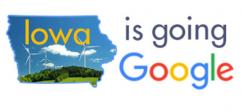 Iowa is going Google logo